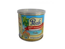 PEAK EVAPORATED MILK NIG. EASY OPEN TIN - 48x170g