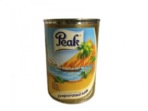 PEAK EVAPORATED MILK (GIANT SIZE) TIN - 48x410g
