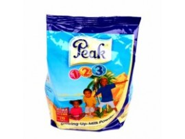PEAK 123 GROWING UP MILK POWDER MILK (POUCH) 400g  | 1 CARTON