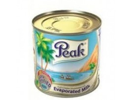 PEAK EVAPORATED MILK (REGULAR) TIN - IMPORTED - 48x170g