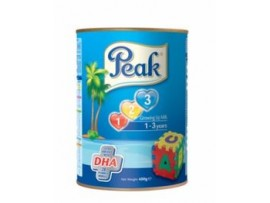 PEAK 123 GROWING UP MILK POWDER MILK (TIN) 400g  | ONE CARTON