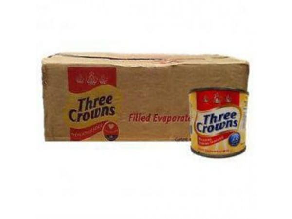 THREE CROWNS EVAPORATED MILK (TIN) 48x160g | 1 CARTON